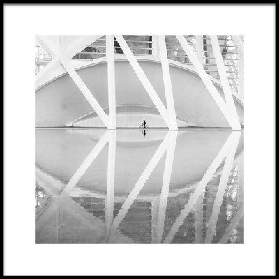 Art print titled Ciudad Artes Y Las Ciencias by the artist FRANCISCO SANCHEZ FOTOGRAFIAS
