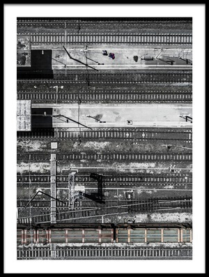 Buy this art print titled Civitavecchia Train Station by the artist Zhou Chengzhou