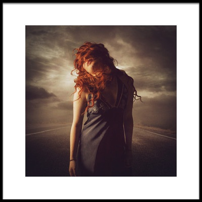 Art print titled Claire Fisher Leaving Home by the artist Michael Bilotta
