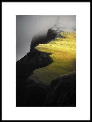 Buy this art print titled Cliff by the artist Mozart Chan