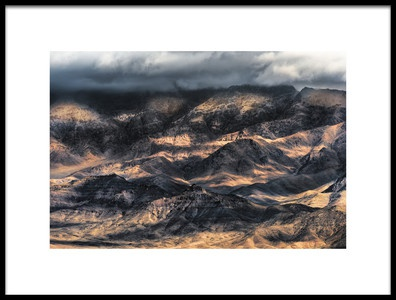Art print titled Cloud and Hill by the artist Mozart Chan