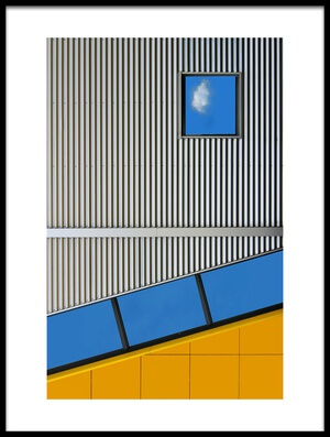 Art print titled Cloudlet by the artist Henk van Maastricht