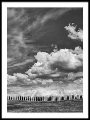 Buy this art print titled Cloudy by the artist Massimo Della Latta