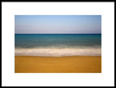Art print titled Coastal Colours by the artist Hasan Baglar