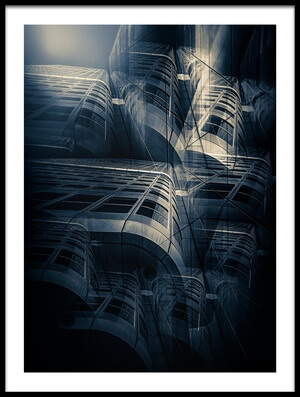 Buy this art print titled Cold Architecture by the artist Stefan Kierek