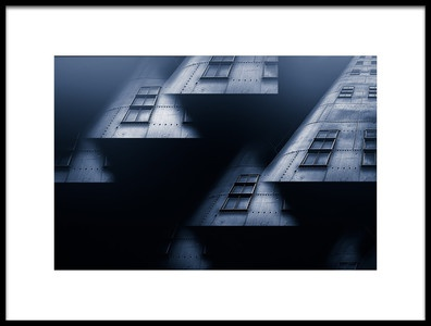 Art print titled Cold City by the artist Stefan Kierek