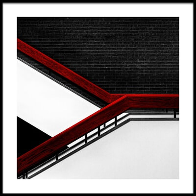 Buy this art print titled College Stairs by the artist Gary E. Karcz