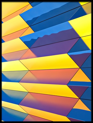 Buy this art print titled Color Cascade by the artist Hans Peter Rank