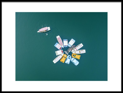 Art print titled Color Dream by the artist Zhou Chengzhou