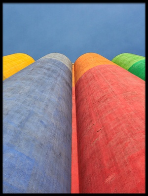 Buy this art print titled Color Factory by the artist Ali Ayer