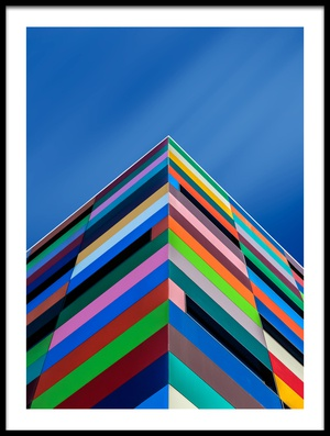 Buy this art print titled Color Pyramid by the artist Alfonso Novillo