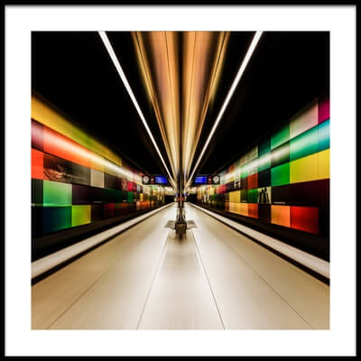 Art print titled Color Zone by the artist Jared Lim