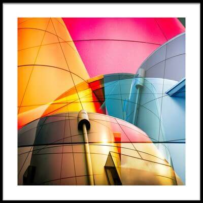 Art print titled Colorama by the artist Peter Elgar