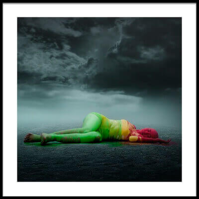 Buy this art print titled Colorful Is Just a Dream by the artist heru agustiana