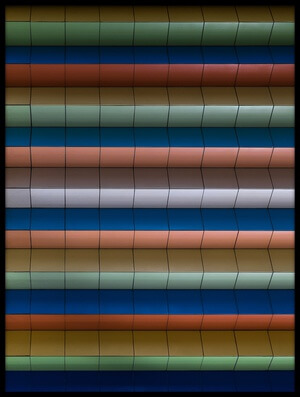 Buy this art print titled Colorful Stripes by the artist Rolf Endermann