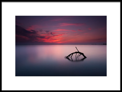 Art print titled Colors of Evening by the artist Michał Olech