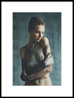 Art print titled Coloured by the artist Alessio Moglioni