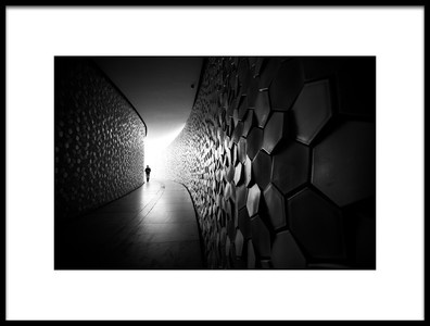 Art print titled Coming from the Light by the artist Nelson Gonçalves