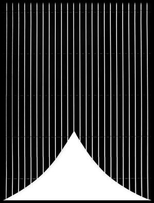 Buy this art print titled Cone and Stripes by the artist Anna Niemiec