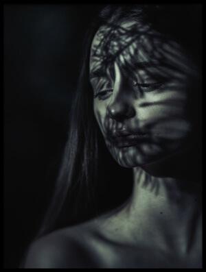 Art print titled Conifer by the artist Magdalena Russocka
