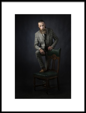 Art print titled Conor Mr Cool by the artist Hugh Wilkinson