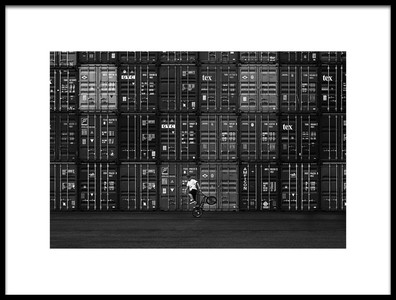 Art print titled Container by the artist Naoki Matsumura