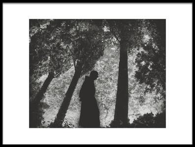 Art print titled Contemplation by the artist Bernardo Dadic