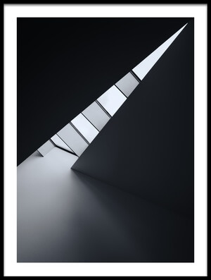 Buy this art print titled Corner of Light by the artist Jeroen van de Wiel