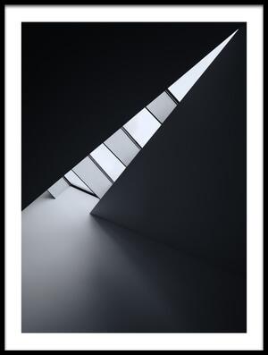 Art print titled Corner of Light by the artist Jeroen van de Wiel