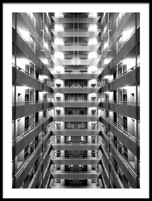 Buy this art print titled Corridor by the artist Koji Tajima