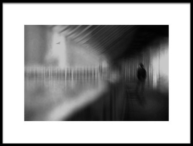 Art print titled Corridor by the artist Teruhiko Tsuchida