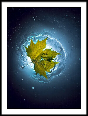 Buy this art print titled Cosmic Autumn by the artist Alexandar Lazarov