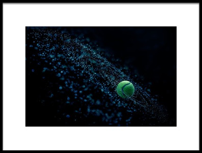 Buy this art print titled Cosmic Ball by the artist joe Conroy