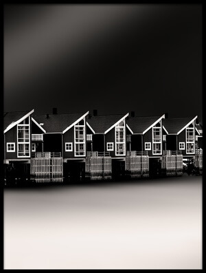 Buy this art print titled Cottages by the artist Peter Futo