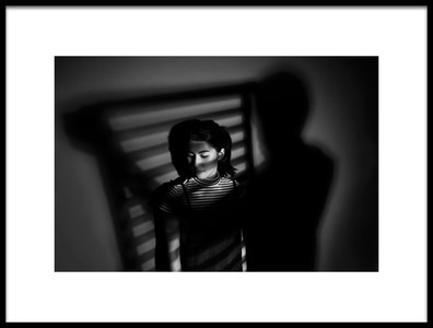 Art print titled Covered In Shadow by the artist ronaldnovianus