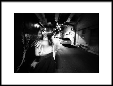 Art print titled Crazy Night by the artist TORU MATSUNAGA