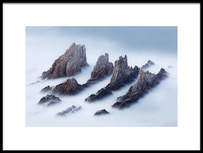 Buy this art print titled Crests and Valleys by the artist José Antonio Pérez