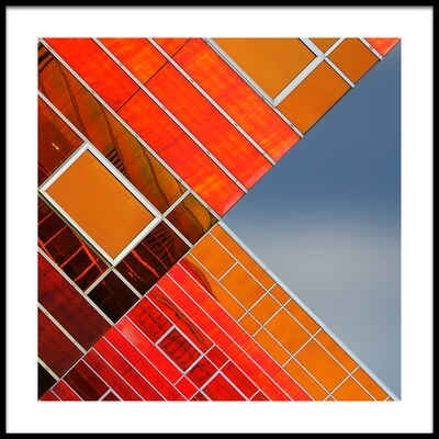 Buy this art print titled Cross Lines 2 by the artist Gerard Jonkman
