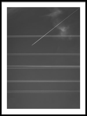 Buy this art print titled Cross the Line by the artist Carlos_Grury_Santos