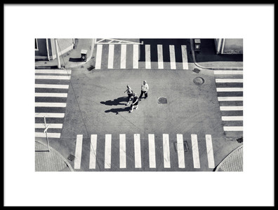 Art print titled Crossing By by the artist Vlad Eftenie