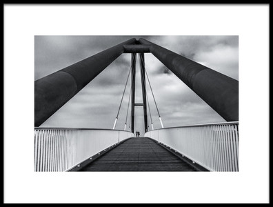 Buy this art print titled Crossing the Lines by the artist Roelof de Hoog