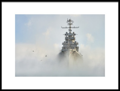 Art print titled Cruiser Ghost by the artist Dmitry Nesvetaylov