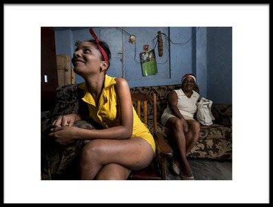 Art print titled Cuba by the artist Orna Naor