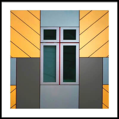 Buy this art print titled Cube House by the artist Henk van Maastricht