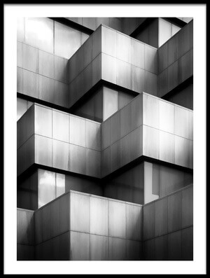 Art print titled Cubic Housing by the artist Gary E. Karcz