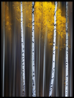 Art print titled Curtain of Fall by the artist Xiaohua Hu