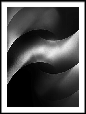 Buy this art print titled Curved by the artist Jutta Kerber