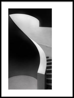 Art print titled Curved Lines by the artist Olavo Azevedo