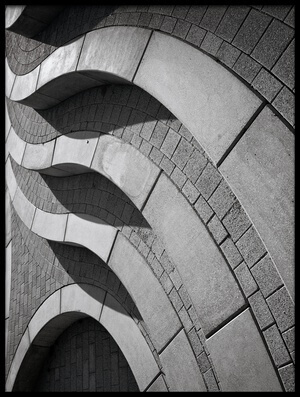 Buy this art print titled Curves by the artist Henk van Maastricht