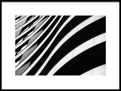 Art print titled Curvilinear by the artist Ursula Rodgers